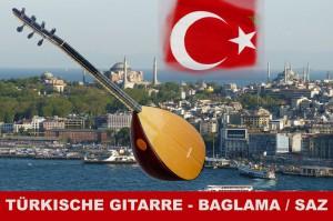 Türkische Gitarre Baglama